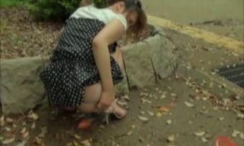 Japanese Girls Outdoor Pooping Free Pooping Scat Clip