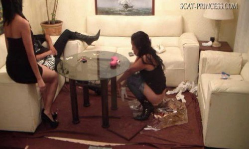 Dom-princess - Scat-princess - Underground Toilet Slave Part 7 Dom-princess