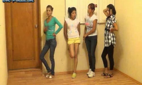 Dom-princess - Scat-princess - Occupied Toilet - The Confrontation Part 1 Dom-princess