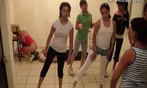 Dom-princess - Scat-princess - Toilet Slaves Aerobic Lessons Part 4 Dom-princess