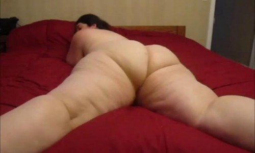 bbw ass spreading and butthole winking paradise