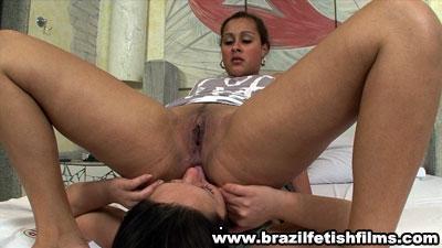 Brazilfetishfilms - Lick Brunettes Sweaty Ass Hd