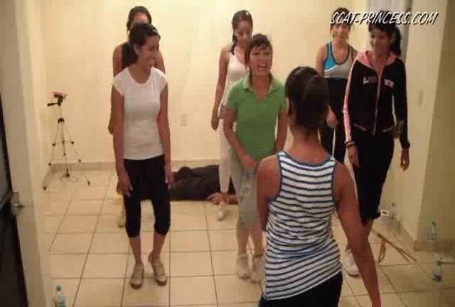 Dom-princess - Scat-princess - Toilet Slaves Aerobic Lessons Part 2 Dom-princess