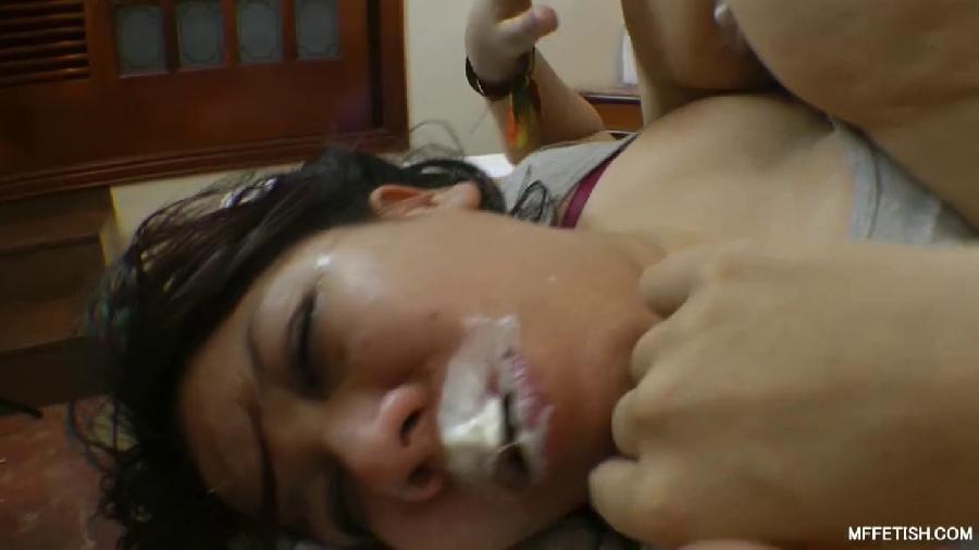 do you want a cream pie¿ karina cruel receive nasty asslicking slave_