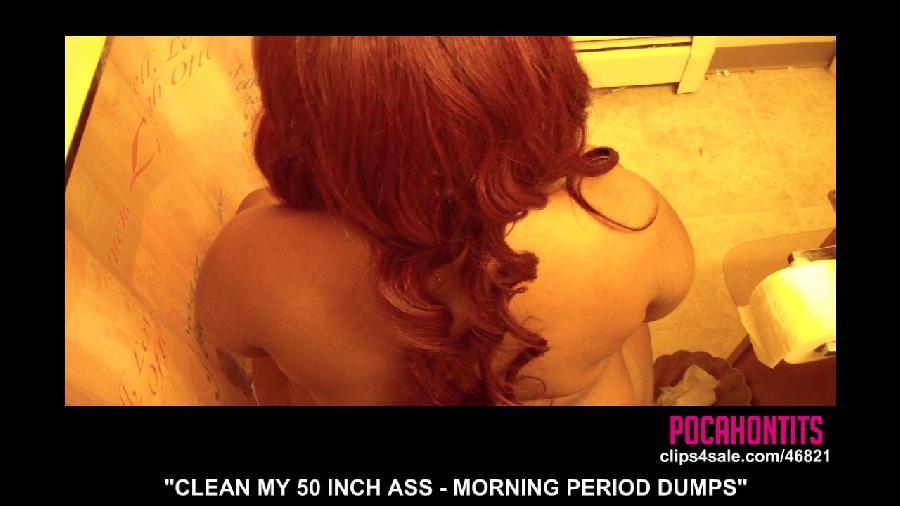clean my 50 inch ass morning period dumps ebony goddess kira - bigtitgoddess